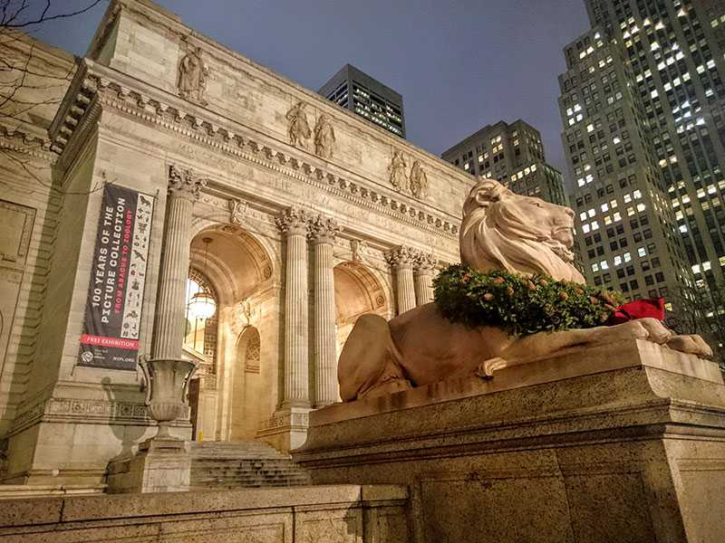 The New York Public Library, New York – December 2015